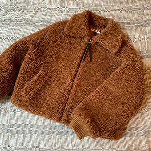Side Party Teddy Jacket